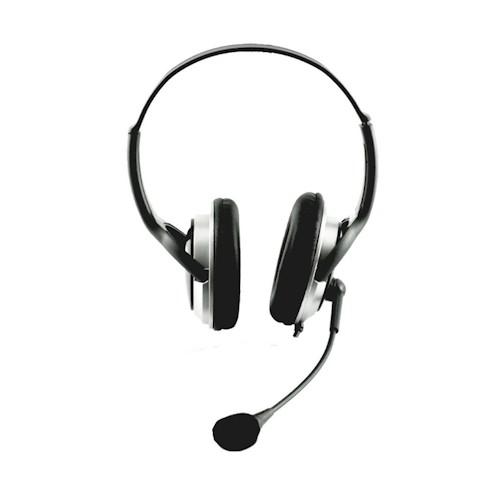 אוזניות קשת עם מיקרופון